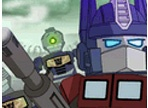 Transformers Optimus Prime Vs Zombie